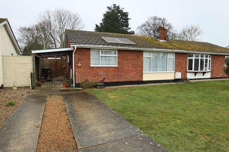 2 Bedrooms Semi Detached Bungalow for sale in Woodlands Avenue, Carlton Colville, Lowestoft