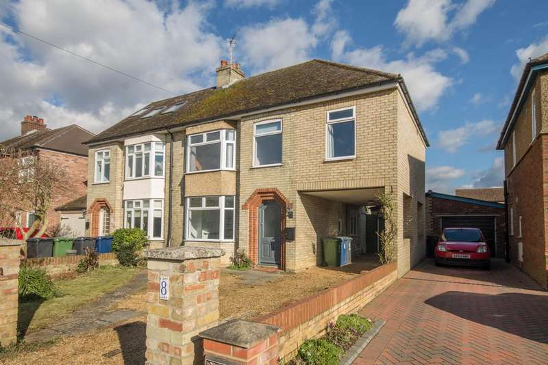 4 Bedrooms Semi Detached House for rent in Park Avenue, Cambridge