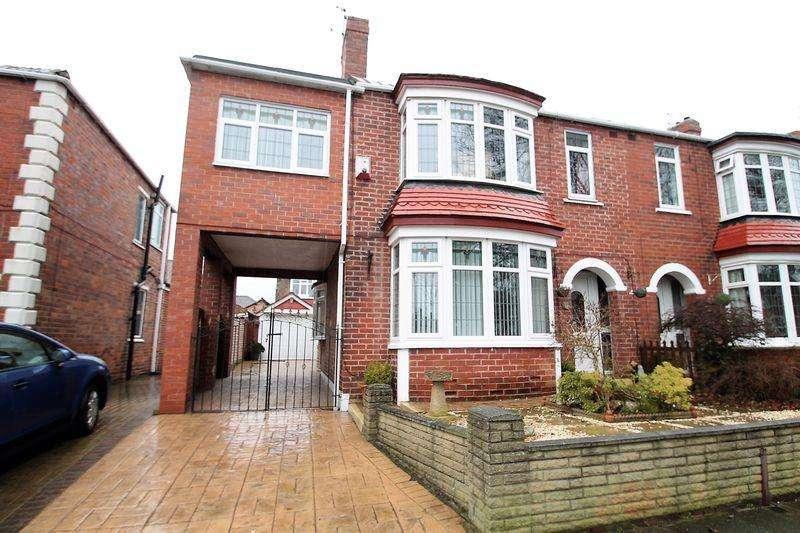 3 Bedrooms Semi Detached House for sale in Conifer Grove, Billingham