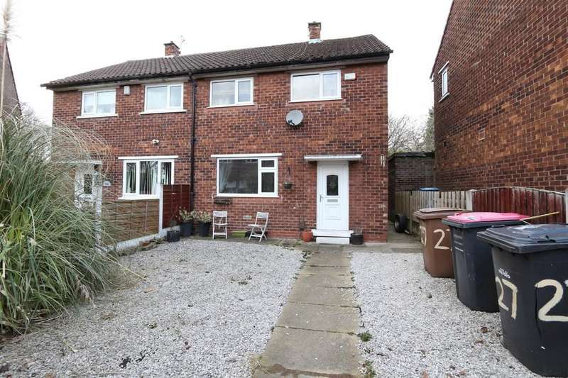 2 Bedrooms Semi Detached House for sale in 27 Brookhouse Avenue, Eccles