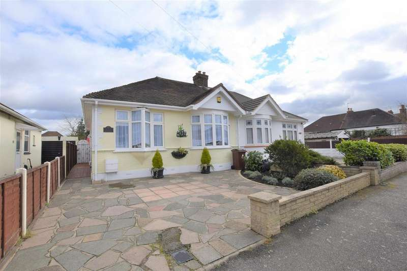 2 Bedrooms Semi Detached Bungalow for sale in Henley Gardens, Chadwell Heath, RM6