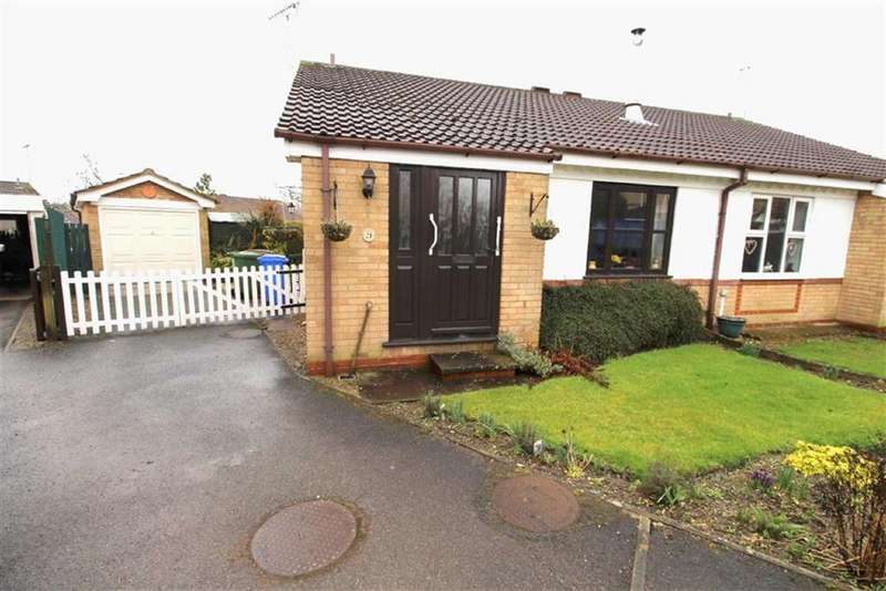 2 Bedrooms Semi Detached Bungalow for sale in Magnolia Close, Driffield, East Yorkshire