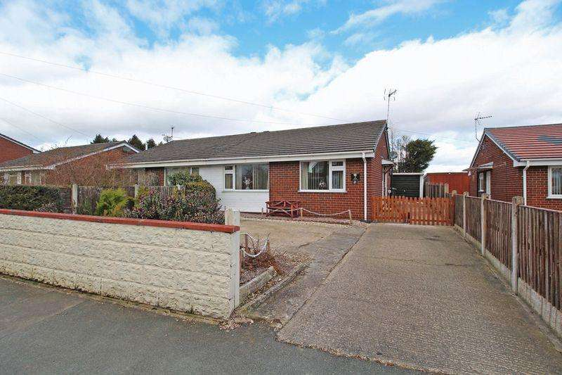 2 Bedrooms Semi Detached Bungalow for sale in Lodgevale Park, Chirk