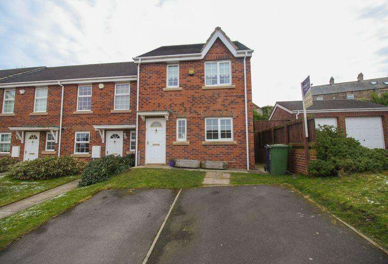 3 Bedrooms Terraced House for sale in Simonside Road, Blaydon
