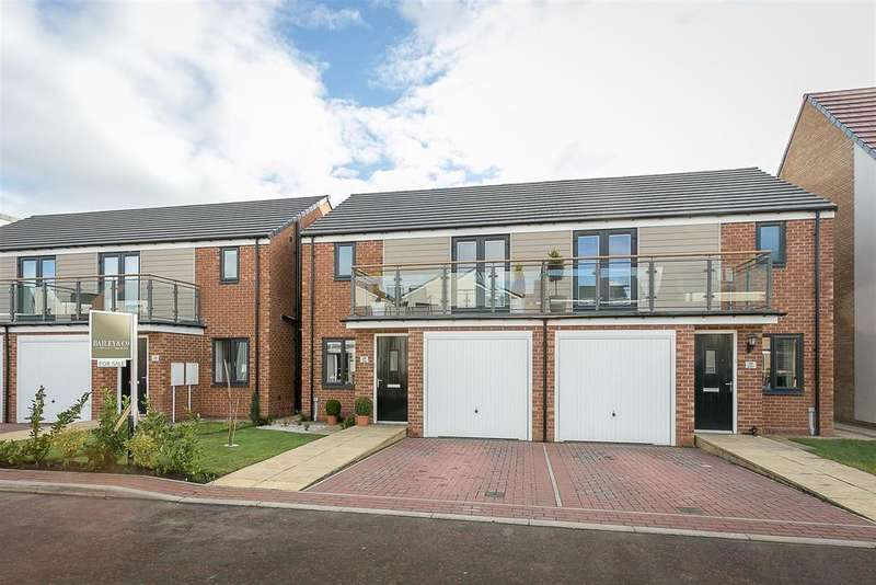 3 Bedrooms Semi Detached House for sale in Greville Gardens, Great Park, Newcastle upon Tyne