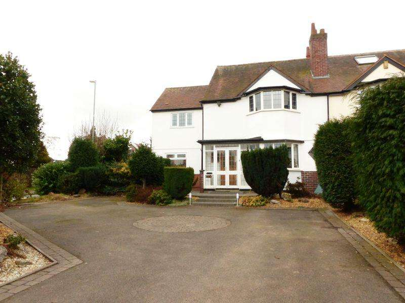 4 Bedrooms Semi Detached House for sale in Foley Road West, Streetly