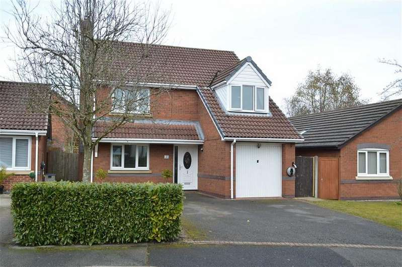 4 Bedrooms Detached House for sale in Haycroft Close, Great Sutton, CH66