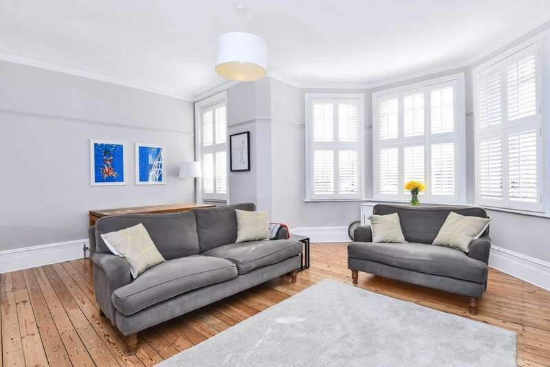 3 Bedrooms Flat for sale in Rosebery Road, Muswell Hill