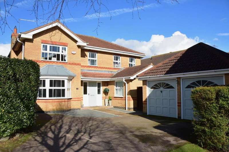 4 Bedrooms Detached House for sale in Woodgate Road, Wootton, Northampton