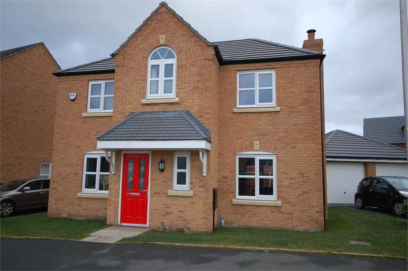 4 Bedrooms Detached House for sale in Linby Way, Waterside Village, St Helens, Merseyside