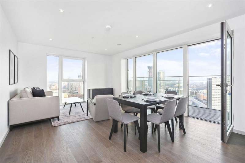 3 Bedrooms Flat for rent in Lantana Heights, 1 Glasshouse Gardens, London, E20