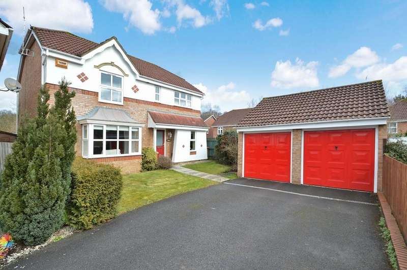 4 Bedrooms Detached House for sale in Wild Cherry Way, Chandler's Ford
