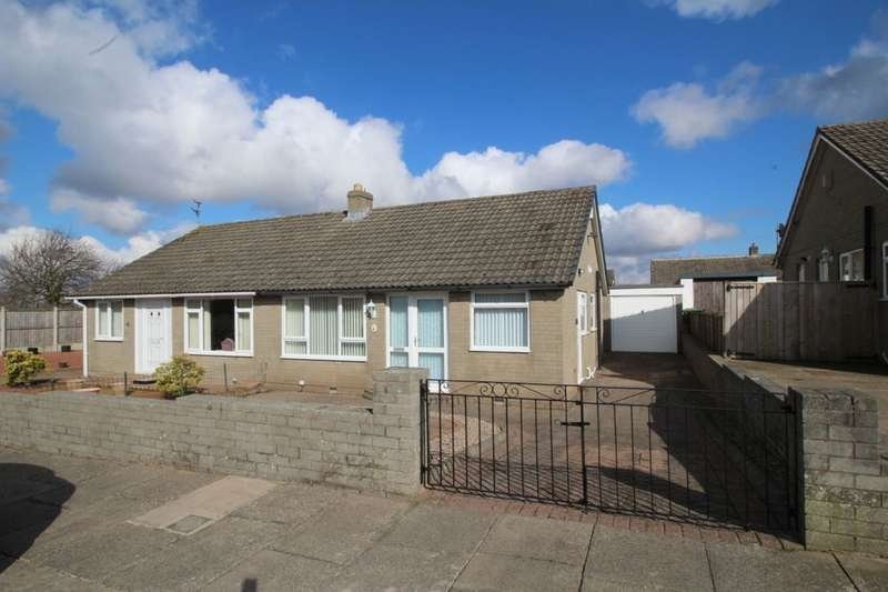 2 Bedrooms Semi Detached Bungalow for sale in Holmrook Road, Carlisle, CA2