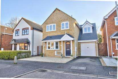 3 Bedrooms Detached House for sale in Riddiford Crescent, Brampton, Cambridgeshire