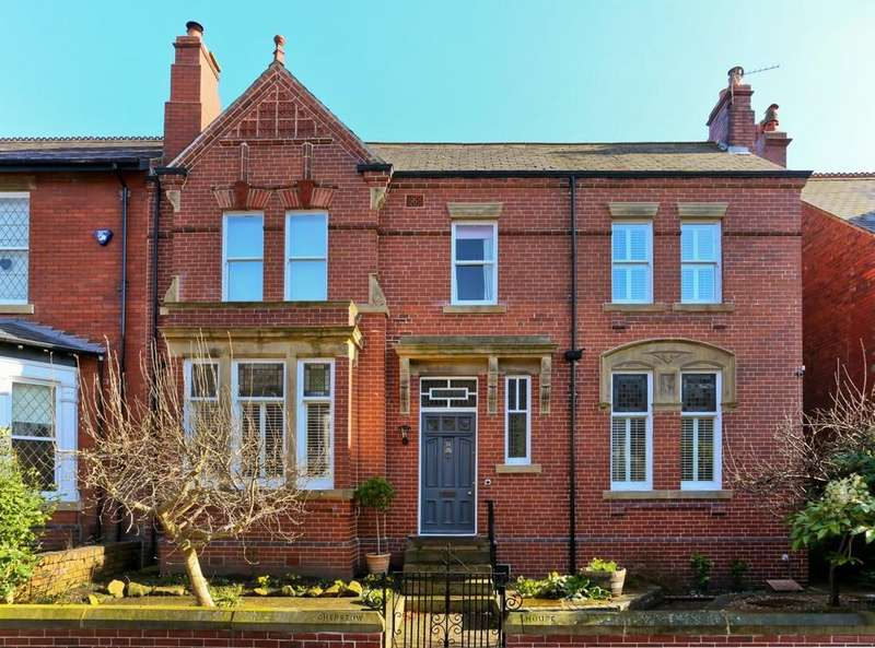 5 Bedrooms Semi Detached House for sale in Chepstow House, Oxford Road, St Johns, WAKEFIELD, West Yorkshire