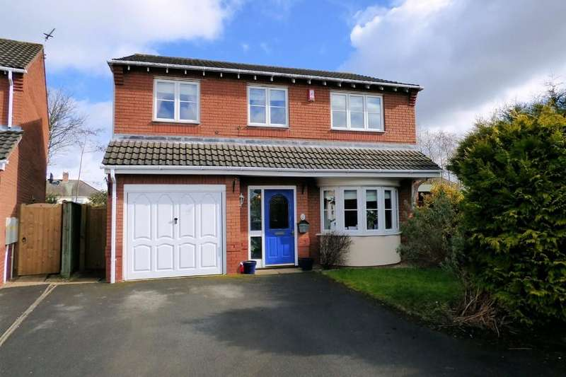 4 Bedrooms Detached House for sale in Ault Dene, Swadlincote