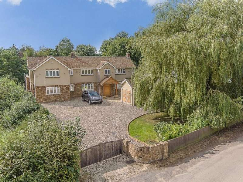 5 Bedrooms Detached House for sale in Wood End, Nr Ardeley
