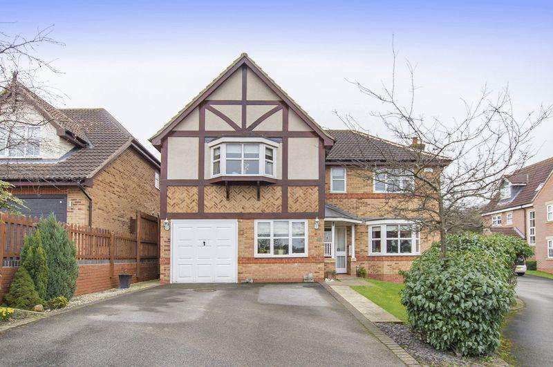 5 Bedrooms Detached House for sale in HEDGEVALE CLOSE, LITTLEOVER