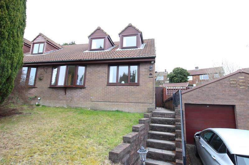 4 Bedrooms Semi Detached House for sale in Heol Cwm Ifor, Caerphilly