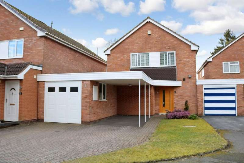 4 Bedrooms Link Detached House for sale in Nuthurst Grove, Bentley Heath