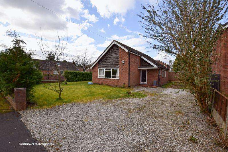 3 Bedrooms Detached Bungalow for sale in Riddings Court, Timperley - Plenty of potential to extend