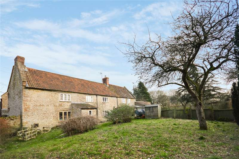 3 Bedrooms Semi Detached House for sale in Naish Barton, East Coker, Yeovil, Somerset, BA22