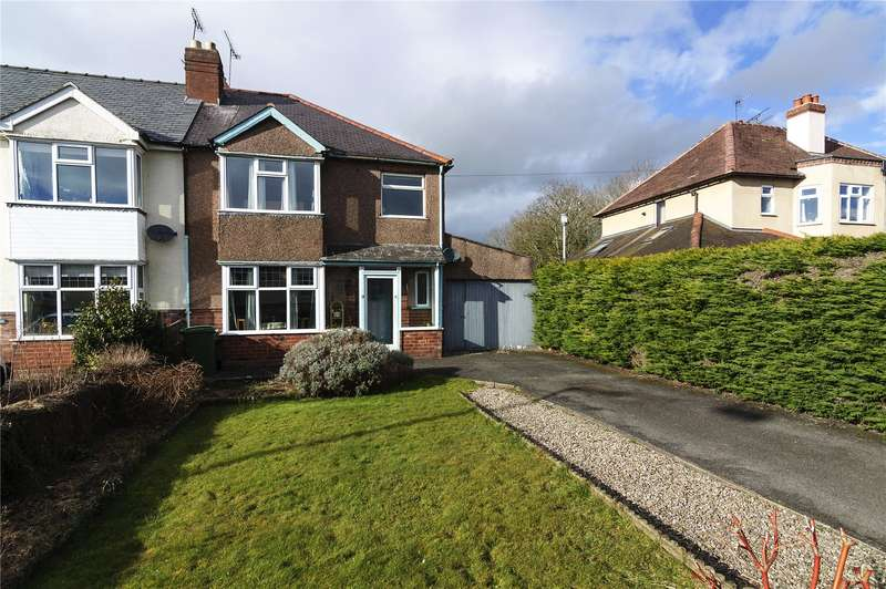 3 Bedrooms End Of Terrace House for sale in St Ronans, Henley Road, Ludlow, SY8