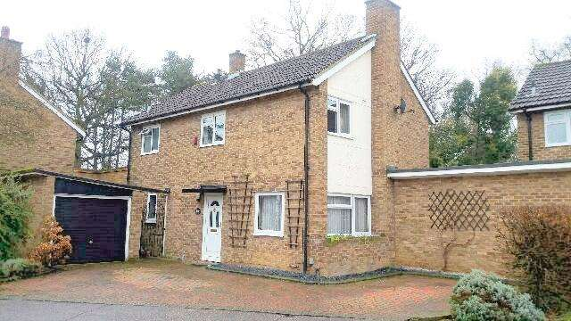 3 Bedrooms Detached House for sale in Arkwrights, Harlow, Essex, CM20 3LZ