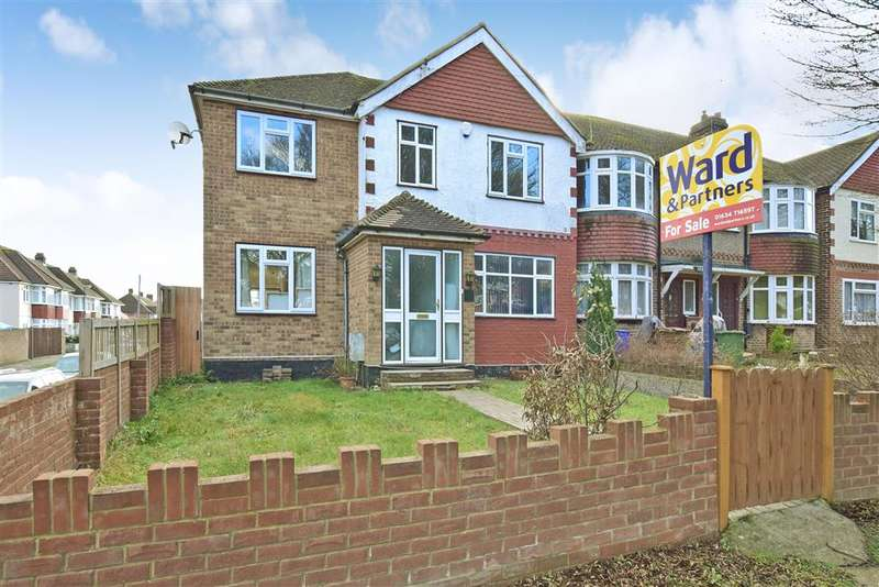 5 Bedrooms End Of Terrace House for sale in Watling Street, , Strood, Rochester, Kent