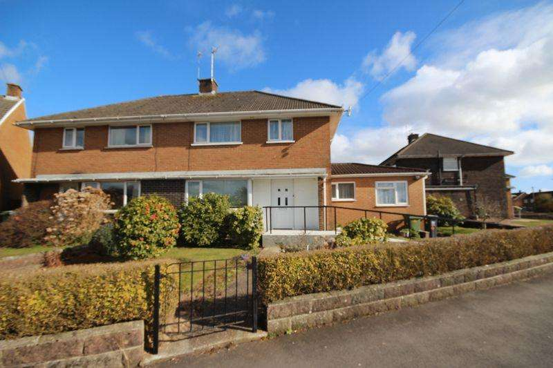 3 Bedrooms Semi Detached House for sale in Burnham Avenue, Llanrumney