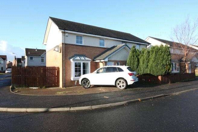 3 Bedrooms Semi Detached House for sale in 1 Thornyflat Crescent, Ayr, South Ayrshire, KA8