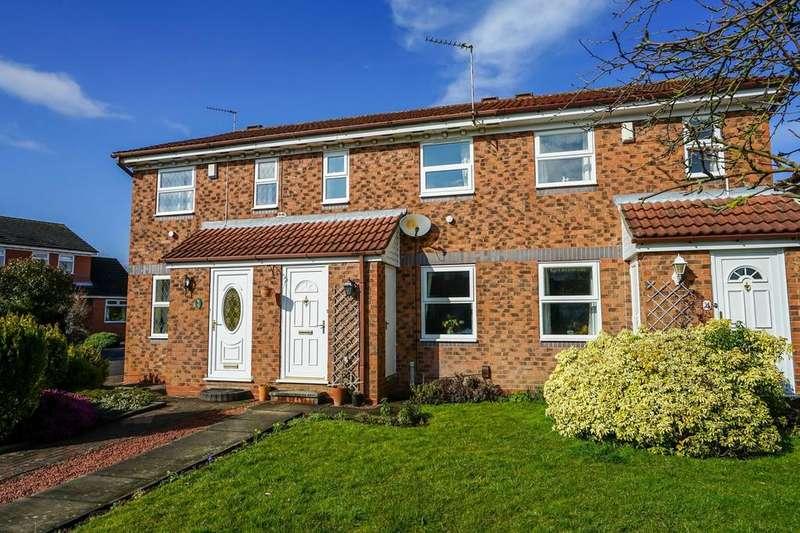 2 Bedrooms Terraced House for sale in Sadberge Court, Osbaldwick, York
