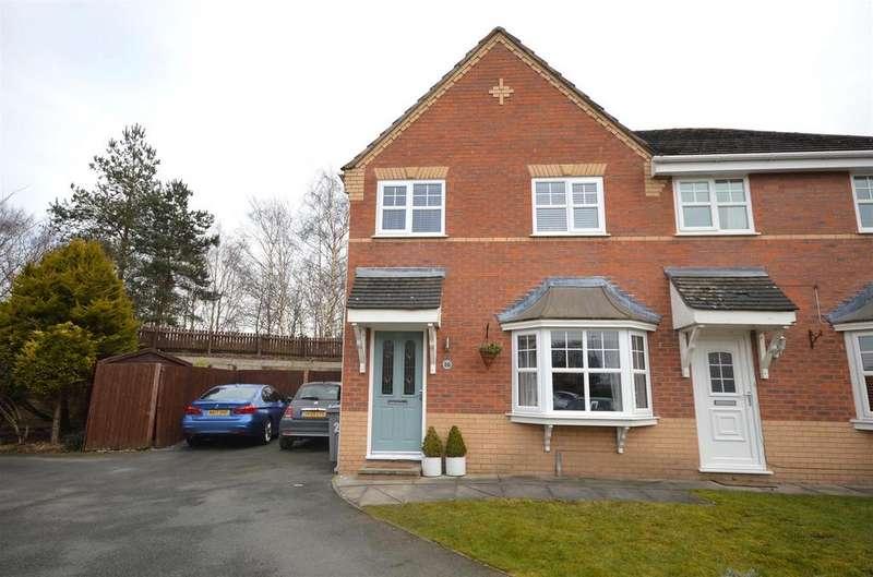 3 Bedrooms Semi Detached House for sale in Marlowe Close, Ettiley Heath, Sandbach