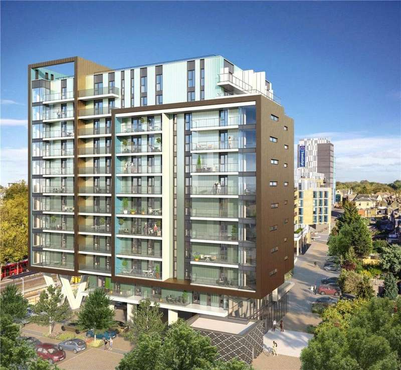 2 Bedrooms Flat for sale in Walthamstow Gateway, Station Approach, Walthamstow, E17