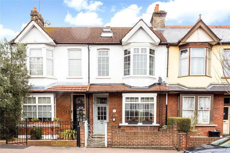 4 Bedrooms Terraced House for sale in Ingatestone Road, Woodford Green, Essex, IG8