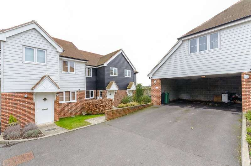 3 Bedrooms Terraced House for sale in Bower Close, Maidstone,, Kent, ME16