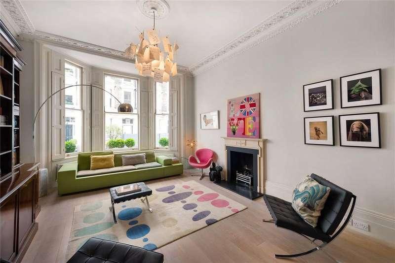 4 Bedrooms Flat for sale in Stafford Terrace, Kensington, London
