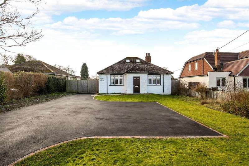 4 Bedrooms Detached Bungalow for sale in Lovedon Lane, Kings Worthy, Winchester, Hampshire, SO23