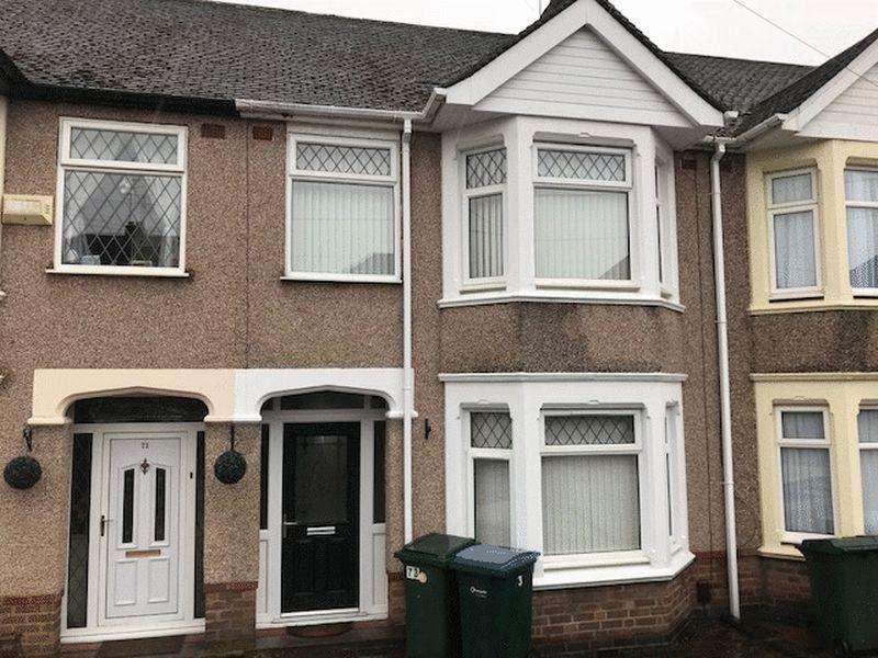 3 Bedrooms Terraced House for rent in Byfield Road, Coventry