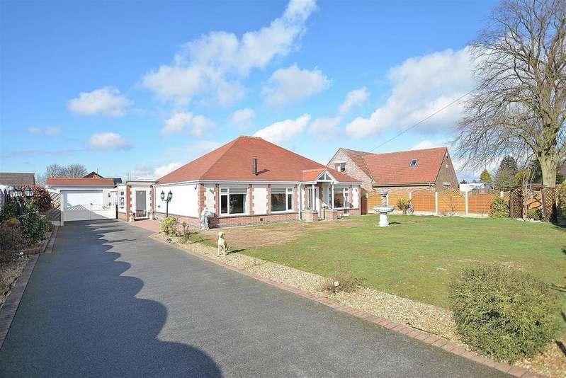 3 Bedrooms Detached Bungalow for sale in Sandholme, Penniment Lane, Mansfield