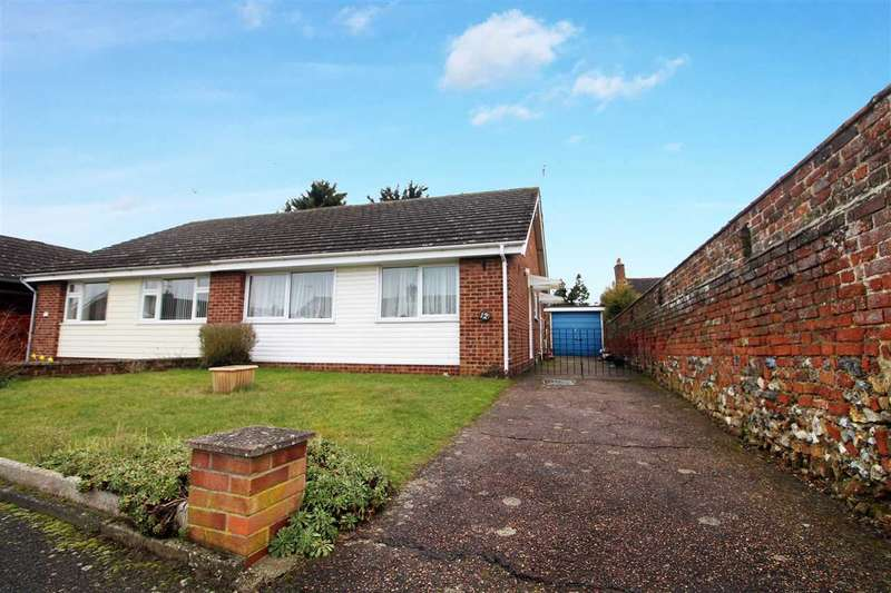 2 Bedrooms Semi Detached Bungalow for sale in Ballater Close, Ipswich