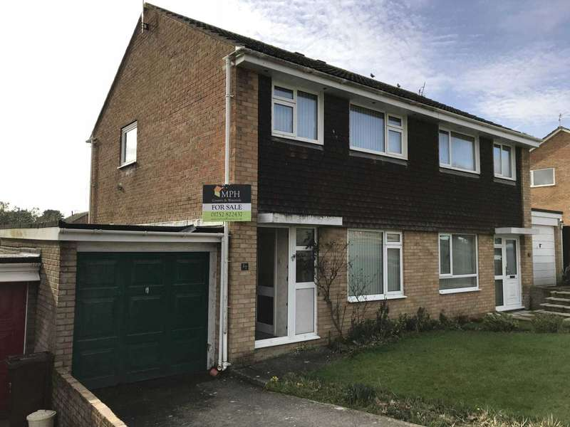 3 Bedrooms Semi Detached House for sale in Goad Avenue, Torpoint
