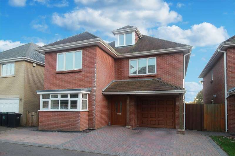 5 Bedrooms Detached House for sale in Ashtree Meadows, Purewell, Christchurch