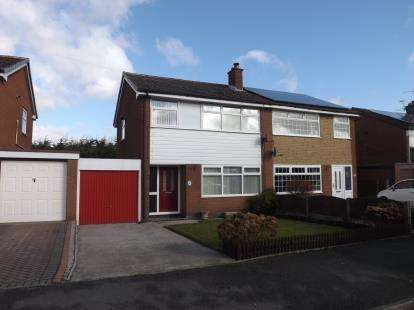 3 Bedrooms Semi Detached House for sale in Canaan, Leigh, Greater Manchester