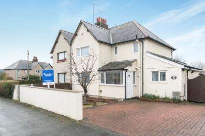 3 Bedrooms Semi Detached House for sale in Cae Derw, Llandudno Junction, Conwy, LL31