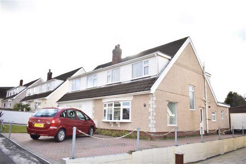 3 Bedrooms Semi Detached House for sale in Heol Maes Y Bryn, Loughor