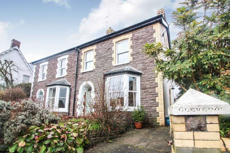 3 Bedrooms Semi Detached House for sale in Chapel Road, Abergavenny, NP7