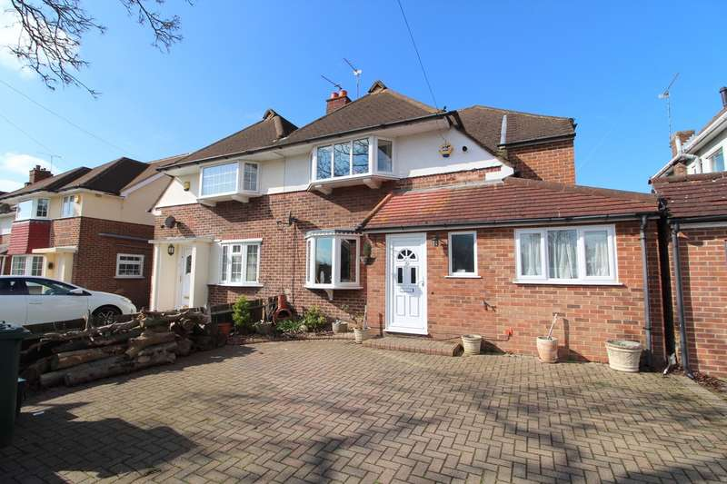 4 Bedrooms Semi Detached House for sale in Windsor Drive, Ashford, TW15