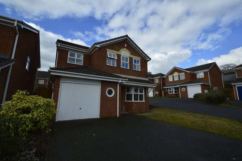 4 Bedrooms Detached House for rent in Hemsworth Way, Shrewsbury SY1