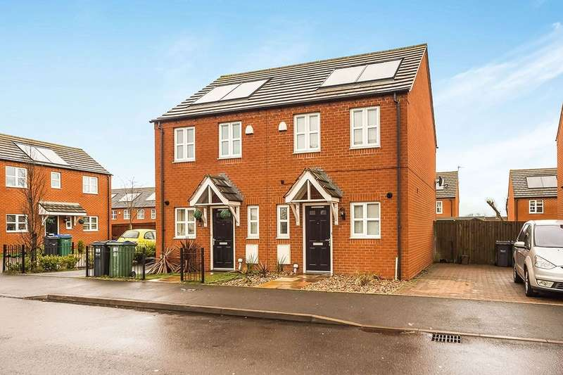 2 Bedrooms Semi Detached House for sale in Star Foundry Drive, Coseley, Bilston, WV14